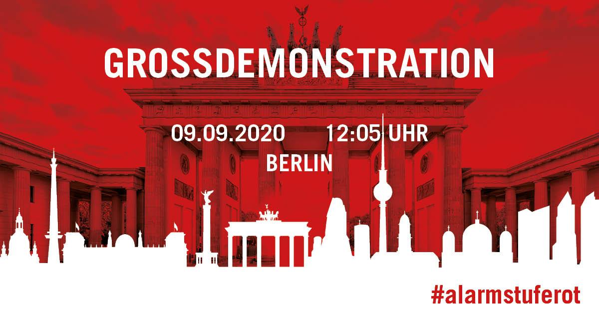 Eventagentur Hamburg Heimathafen Hamburg Events AlarmstufeRot Grossdemonstration Berlin