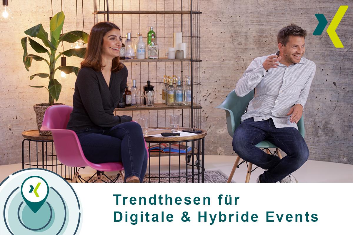 Trendthesesn digitale und hybride Events