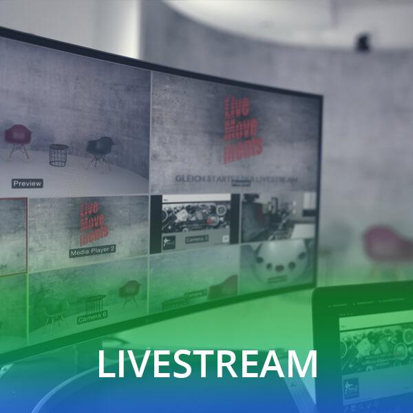 Eventagentur Hamburg Livestream Studio